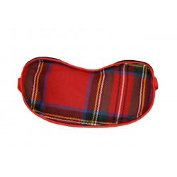 Royal Stewart Modern Tartan Sleep Mask