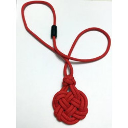 Celtic Heart Paracord Necklace