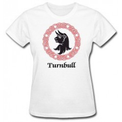 Turnbull Clan Crest Lady's T-Shirt