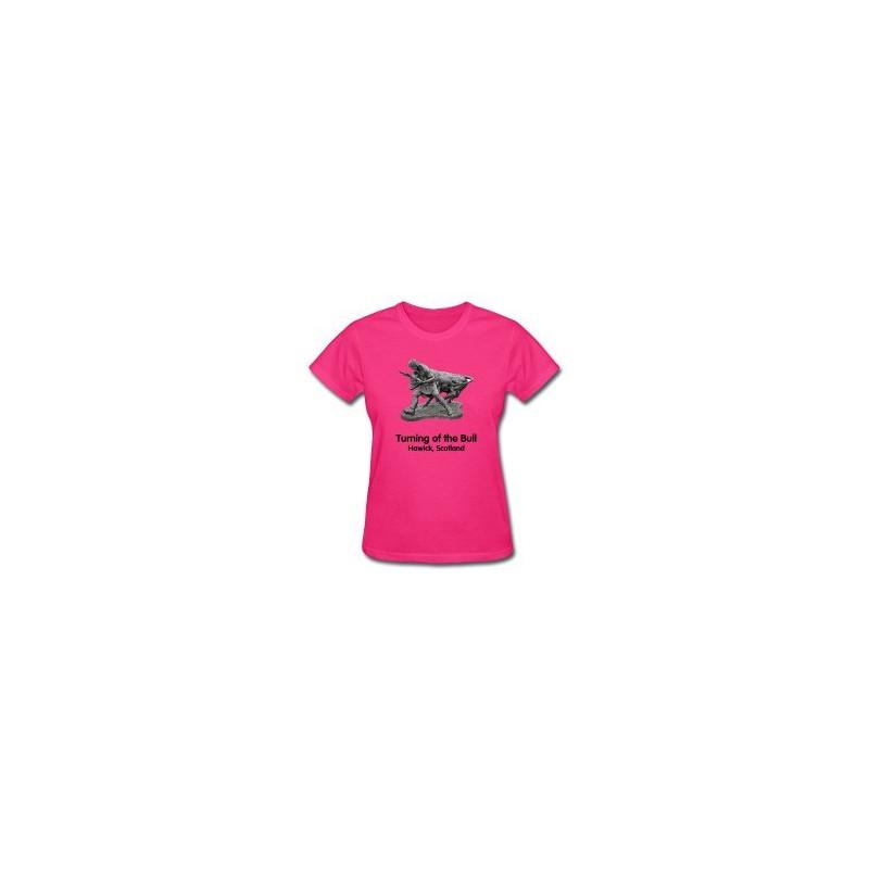 Turning of the Bull - Scotland - Lady's T-Shirt