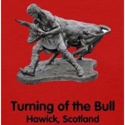 Turning of the Bull - Scotland - Lady's T-Shirt