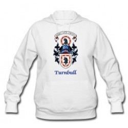 Scottish Turnbull Coat of Arms on Woman's Hoodie