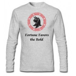"""""""Fortune Favors the Bold"""" Turnbull Crest Long Sleeves"""