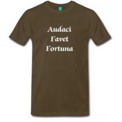 Audaci Favet Fortuna Turnbull T-shirt