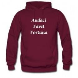Audaci Favet Fortuna - Turnbull Motto Hoodie