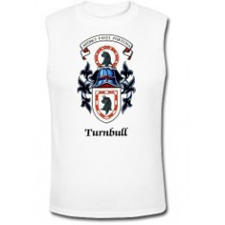 Official Turnbull Coat of Arms Sleeveless Shirt