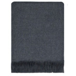 Charcoal Worsted Wool Serape