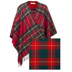 Bespoke Lambswool Serape (Not actual Tartan)