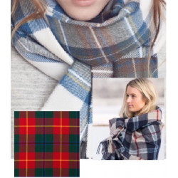 Turnbull Ladies Tartan Scarf