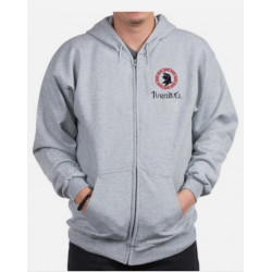 Turnbull Clan Crest Zippered Sweatshirt