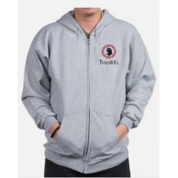 Turnbull Clan Crest Zippered Sweatshirt