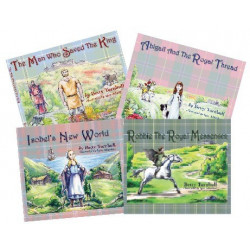 All Four of Scottish Children's Books