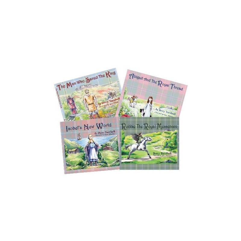 All Four of Scottish Children's Books