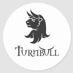 Turnbull Bull's Head sticker