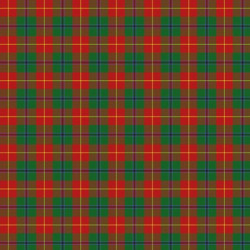 12x12 Dress Tartan Scrapbook Page