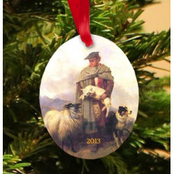 2013 Collectible Scottish Shepherd Ornament
