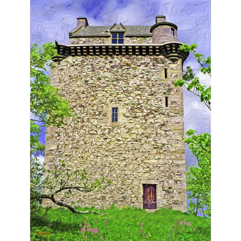 Fatlips Castle Painting