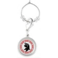 Turnbull Crest Wine Charm