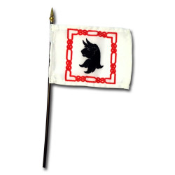 Turnbull Crest Desk Flag